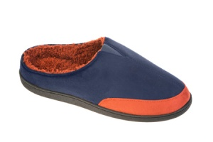 M009 - Mens Single Gusset Two Tone Mule