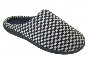 M050 - Mens Chequered Mule.