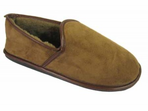 M023 - Mens Microsuede Slipper
