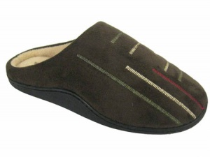 M021 - Mens Embroidered Mule