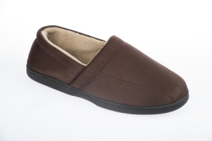 G029 - Mens Microsuede Full Back Slipper.