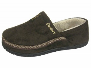 M029 - Mens Cross Stitch Full Back Slipper