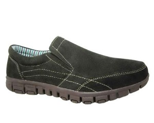 L032 - Suede Leather Slip On Sport Casual