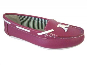 L057 - Ladies Deck Style Shoe