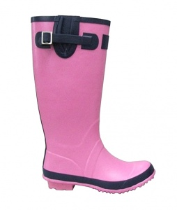 L070 - Ladies Plain Rubber Welly