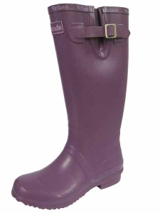 L073 - ''Wetlands'' Branded Plain Rubber Wellington Boot