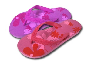 L092 - Ladies Floral Design Toe-Post