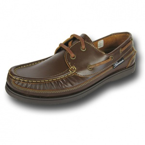 M007 - Mens Real Leather Canoe Front Deck Shoe