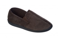 M039 - Mens Twin Gusset Corded Slipper.