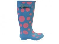 L071 - Ladies Spot Rubber Welly