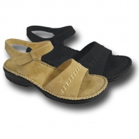 L088 - Ladies Comfort Sandal With Ankle Strap