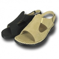 L089 - Ladies Comfort Sandal With Gusset