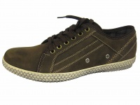 M070 - Mens Nubuck Leather Casual.