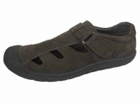 M078 - Mens Closed Back Leather Sandal