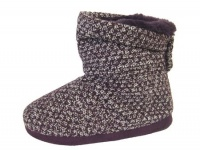W078 - Ladies Knitted Boot