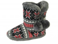 W083 - Ladies Knitted Boot