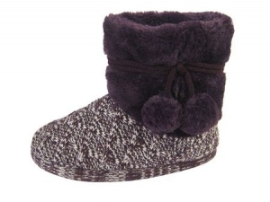 W079 - Ladies Knitted Boot