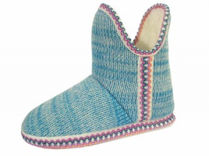 W088 - Ladies Knitted Boot