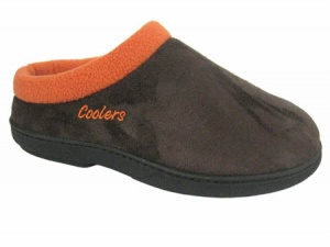 W099 - Ladies ''Coolers'' Microsuede Clog
