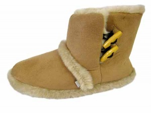 W103 - Ladies Microsuede Cooler Boot