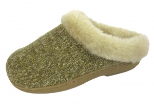 W124 - Ladies Knitted Ski Back Mule